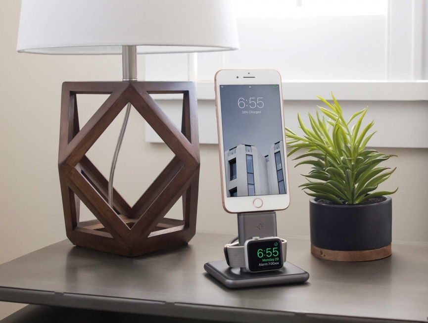 Best Apple Watch bands and accessories: HiRise Duet charger from Twelve South | Holiday Tech Guide 2017