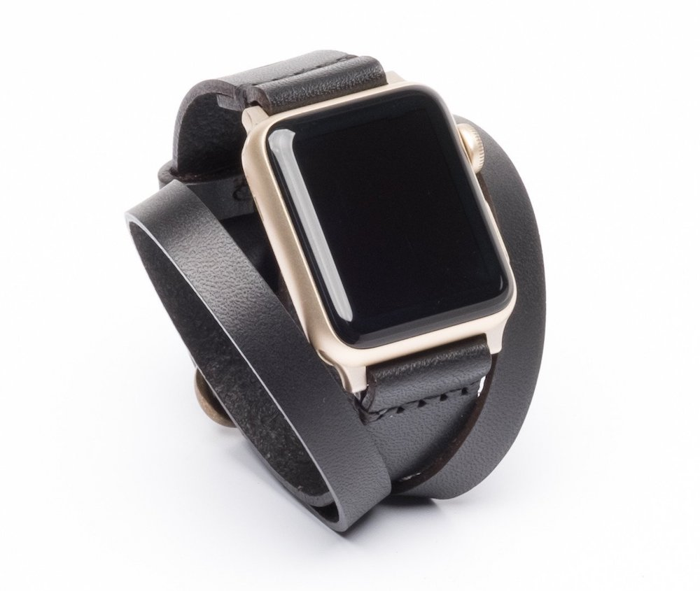 Best Apple Watch accessories: Leather band by Arrow & Board | Holiday Tech Guide 2017