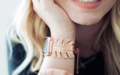 12 stylish Apple Watch bands and accessories. Rowr. | Holiday Tech Gifts 2017