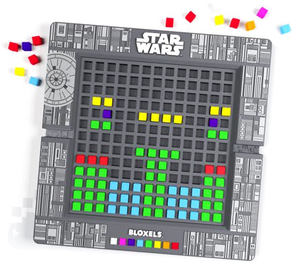 Bloxels Star Wars: Use a physical board game to design your own video game boards.