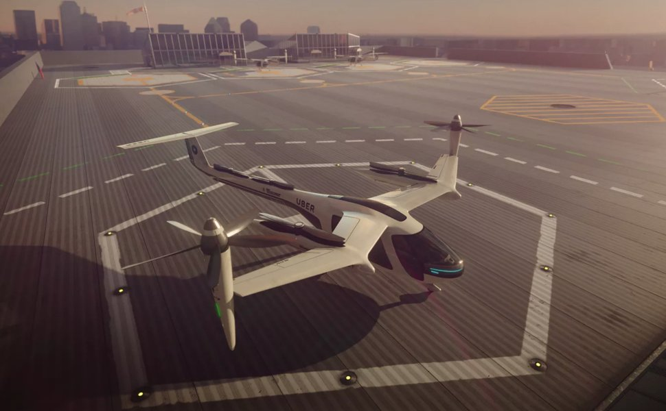 Uber Partners With NASA to Bring Flying Taxis to LA by 2020