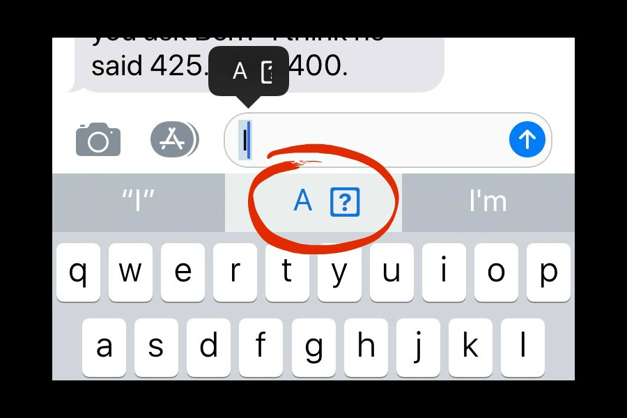 How to fix the iPhone bug that's putting weird symbols in your texts.