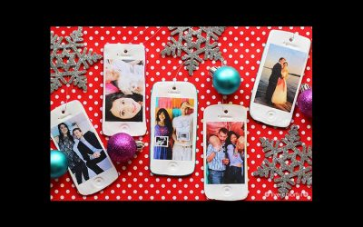 Fun iPhone ornaments get your photos off your phone, and onto your Christmas tree