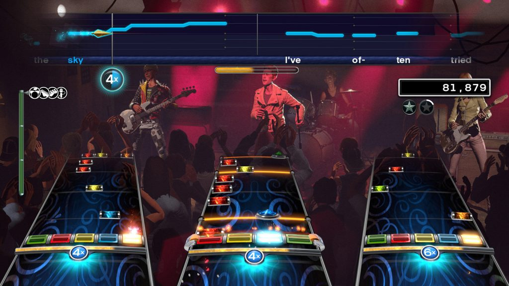 Favorite family video games: Rock Band 4