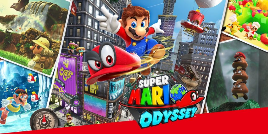 Favorite family video games: Super Mario Odyssey
