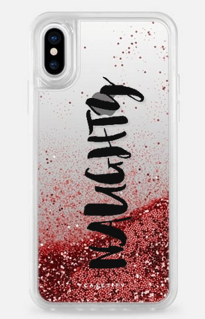 Holiday iPhone Cases: Casetify Custom Naughty | 2017 Holiday Tech Gift Guide