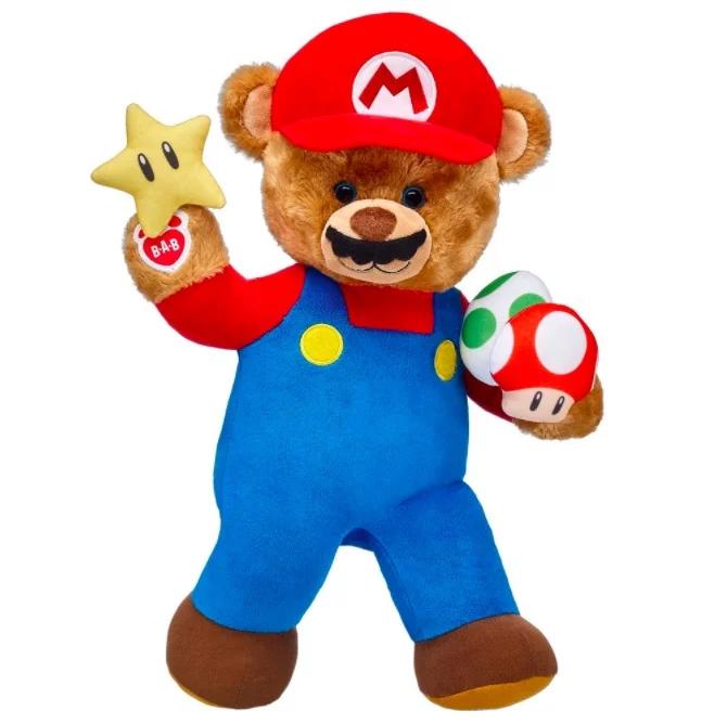 Mario Build-a-Bear | Nintendo Life