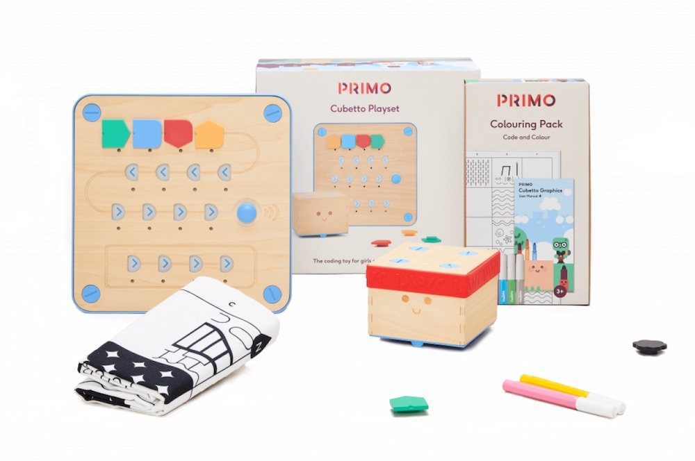 Best STEM gifts for kids: Cubetto Code & Colour