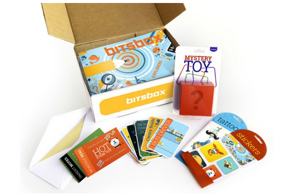 STEM box subscription gifts for kids from Bitsbox | 2017 Holiday Tech Gift Guide