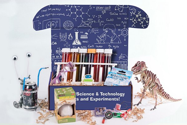 STEM box subscription gifts for kids from Cratejoy Scikidz Labs | 2017 Holiday Tech Gift Guide