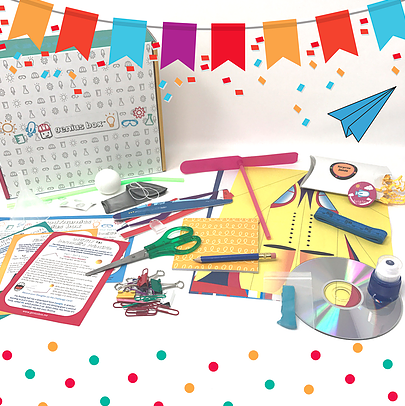 STEM box subscription gifts for kids from Genius Box | 2017 Holiday Tech Gift Guide