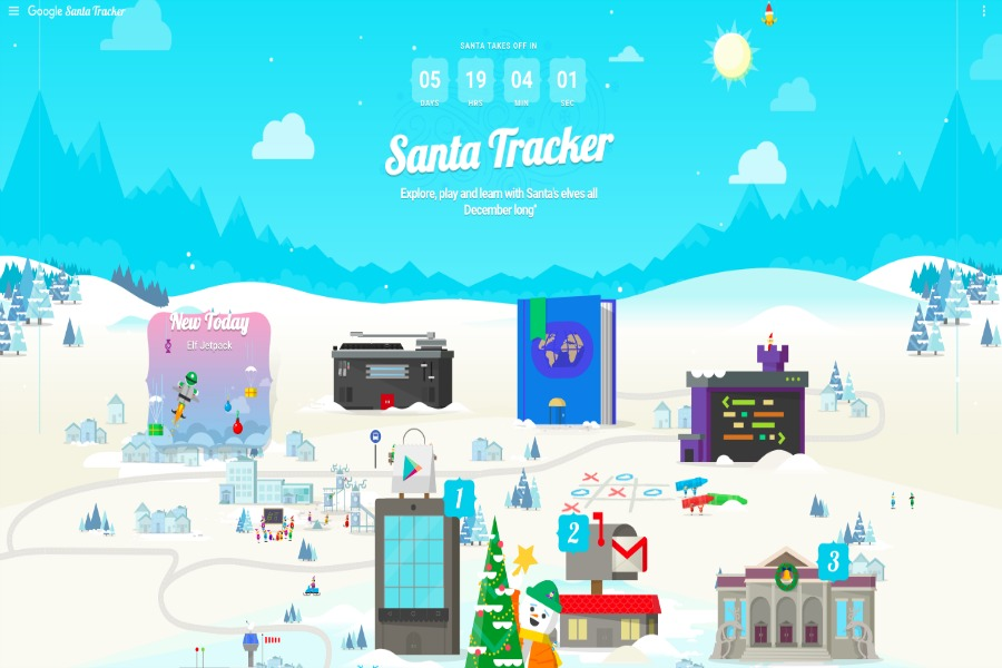 Web Coolness: The best Santa tracker, who says social media is bad for us?, and more!
