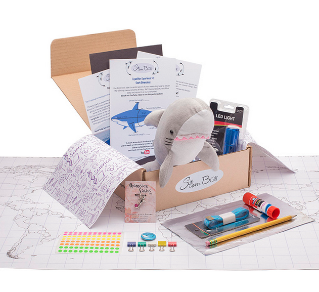 STEM box subscription gift for kids from MyStemBox | 2017 Holiday Tech Gift Guide