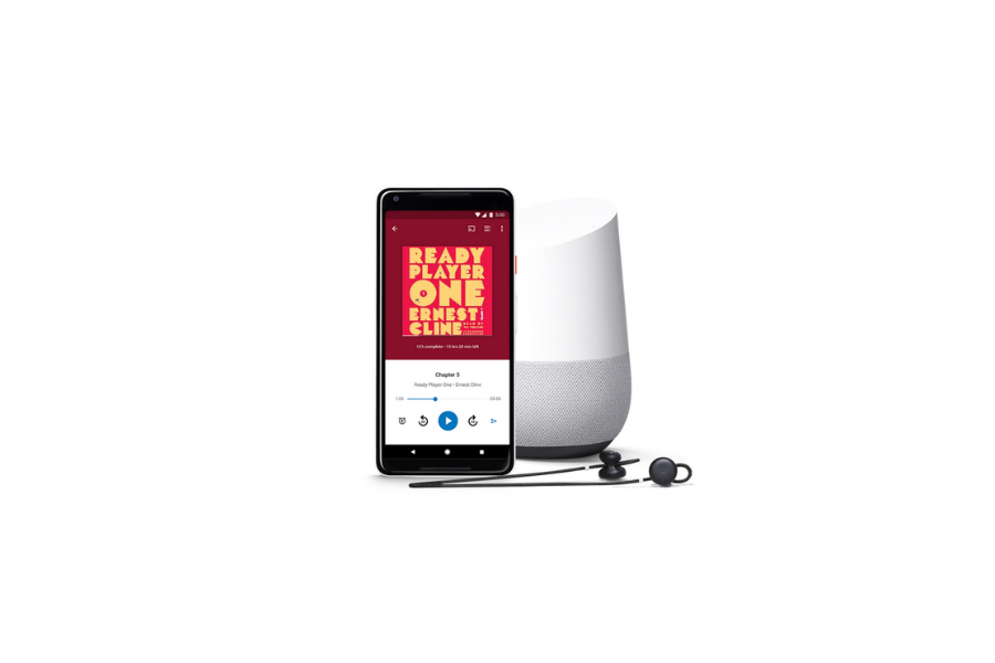 Google adds audiobooks to round out home speaker hub war with Amazon