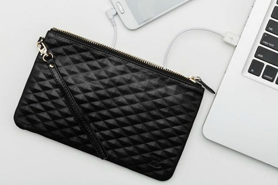 Covet alert: The swanky new charging purses from Mighty Purse