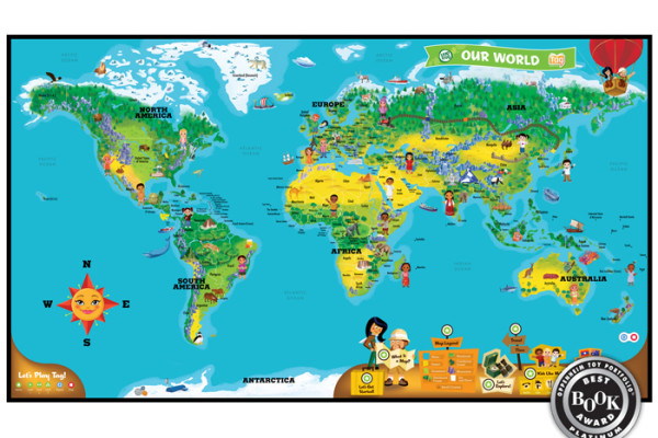 leapfrog tag world map   Cool Mom Tech