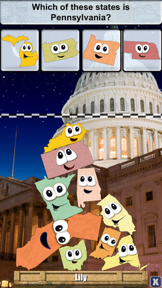 Stack the States app | Cool Mom Tech