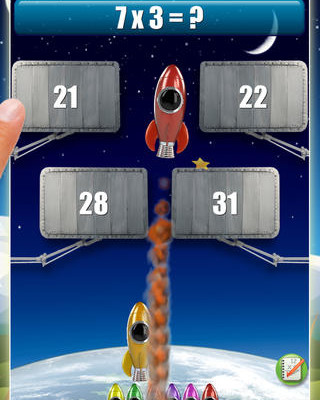 Rocket Math app | Cool Mom Tech