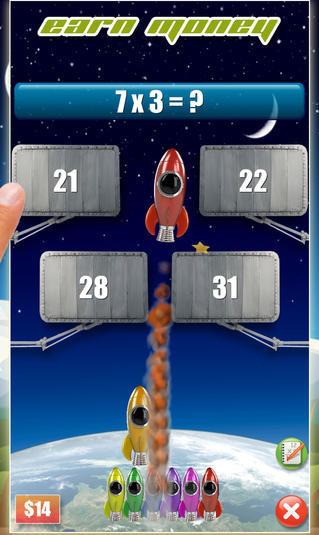 Rocket Math app | Cool Mom Tech