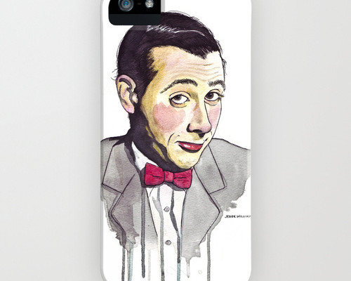 pee wee iphone case on society6 | Cool Mom Tech
