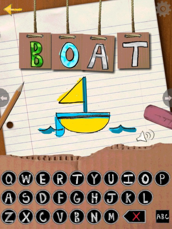 A simple, effective app for little spellers