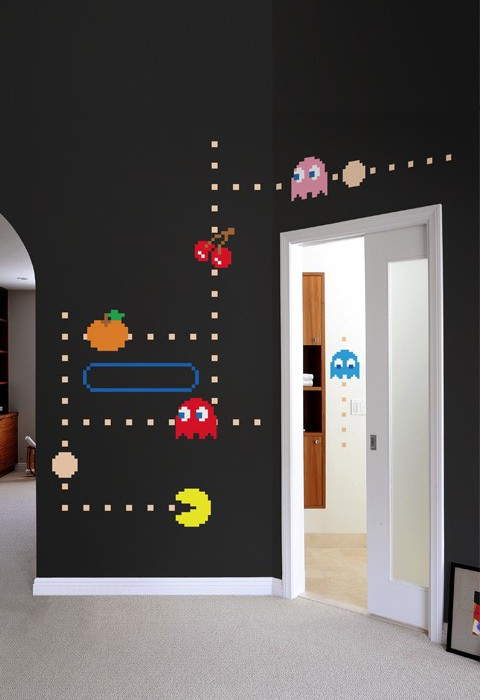 Pac-Man Ghost wall decals from Blik | Cool Mom Tech