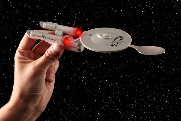 Star Trek light up spoon from ThinkGeek | Cool Mom Tech