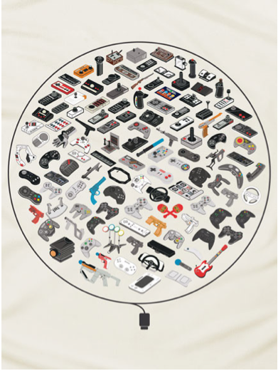 60 years of video gaming, all in one place: your chest.