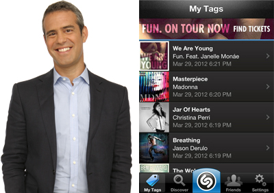 Andy Cohen favorite app | Cool Mom Tech