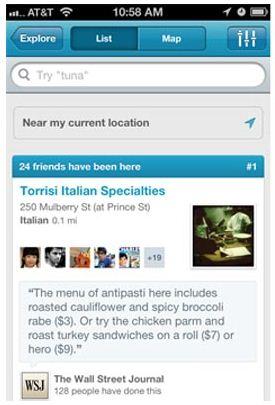 Updated Foursquare feature lets parents Explore