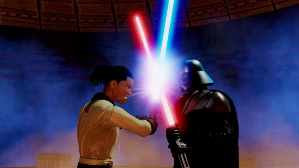 Kinect Star Wars – The force is with you, or at least in your left hand