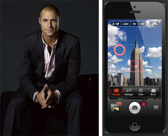 Oh Appy Day! featuring Nigel Barker's favorite photography app