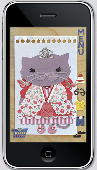 Paper Dolls as fabulous, adorable, must-have iPhone app