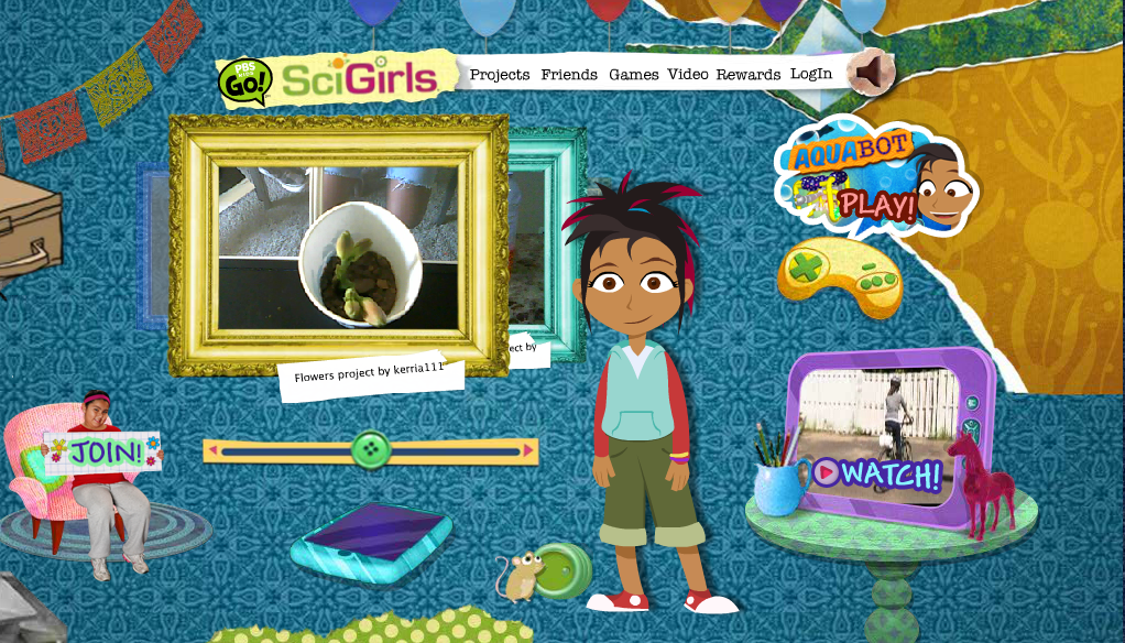 SciGirls: A smart new show for science-minded girls