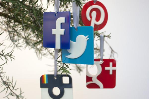 Social Media Christmas Ornaments | Cool Mom Picks
