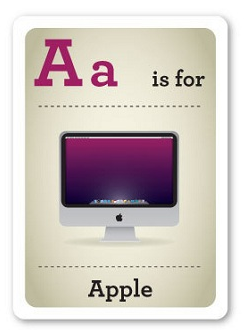 Flash Cards for techies, design nerds, and other types due to conquer the world any minute