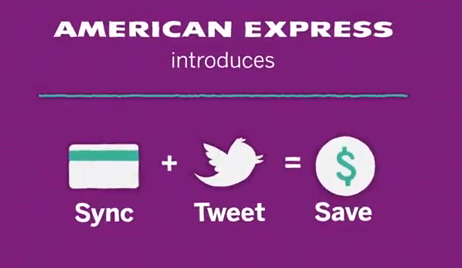 American Express syncs with Twitter – perfect partnership for saving money over the holidays