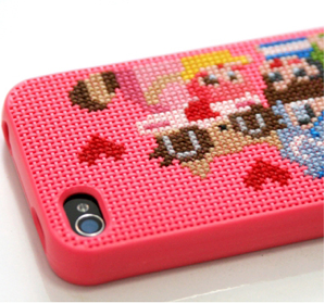 DIY iPhone cases meet needlepoint awesomeness
