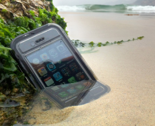 Keep your iPhone safe from the elements. Including kids.