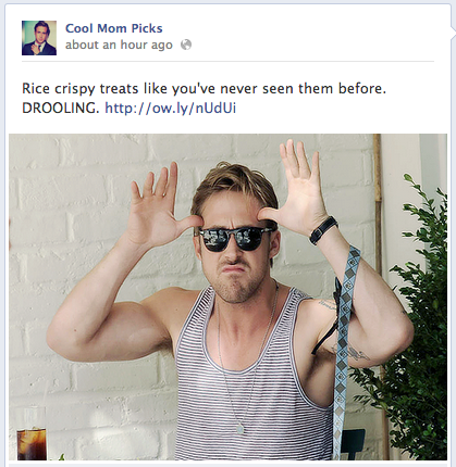 Hey girl, let Ryan Gosling brighten up your Facebook feed
