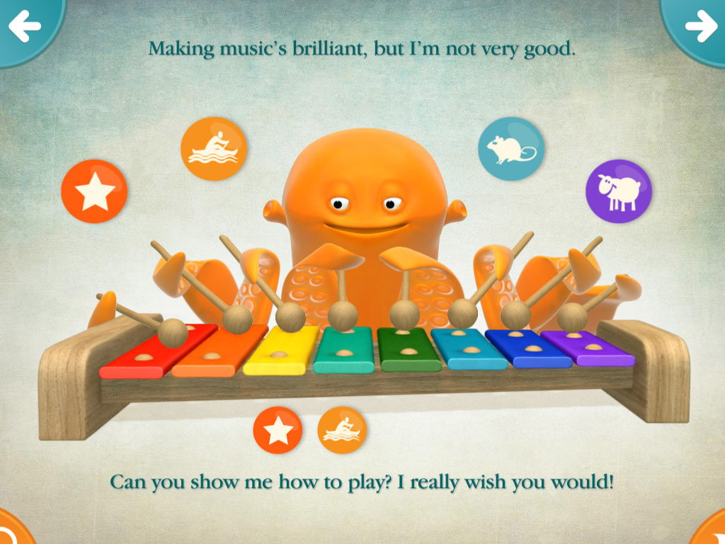 Timmy Tickle. Because who wouldn't want to play with an octopus?