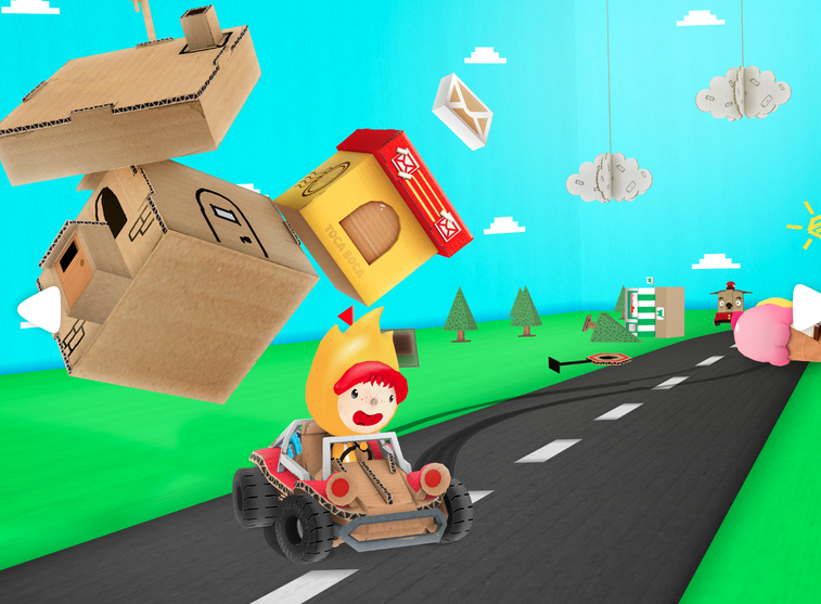 Hit the road with the Toca Cars app