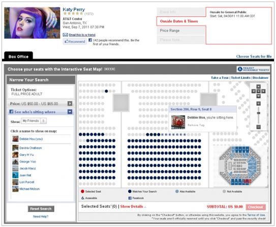 Ticketmaster gets social with Facebook, and the circus just got a lot more fun.