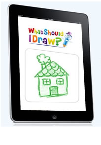 What should I draw, mom? This app has the answer.
