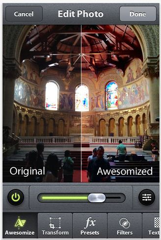 Camera Awesome for iPhone lives up to its name