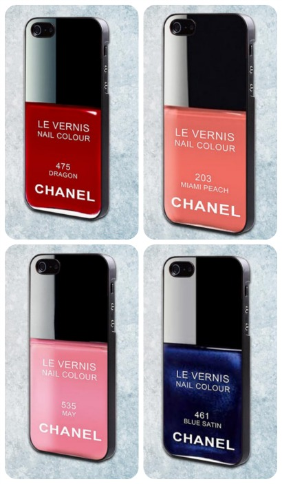 My iPhone case? Oh, it's a Chanel.