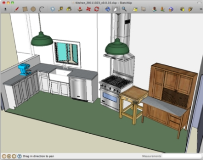 Create amazing 3D drawings (and your dream home) for free with SketchUP