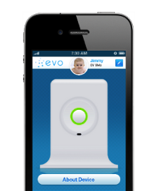 Piquing our Geek: evoz baby monitors for plugged-in parents