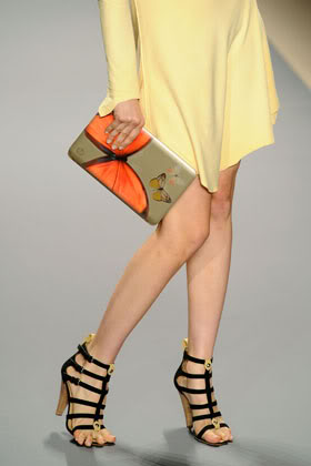 The digital clutch is the new designer purse when it comes from Vivienne Tam