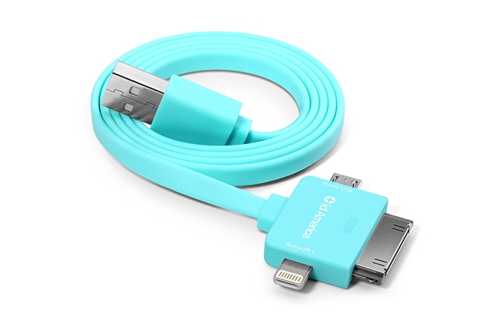A universal USB charger for gadget junkies. Like us.